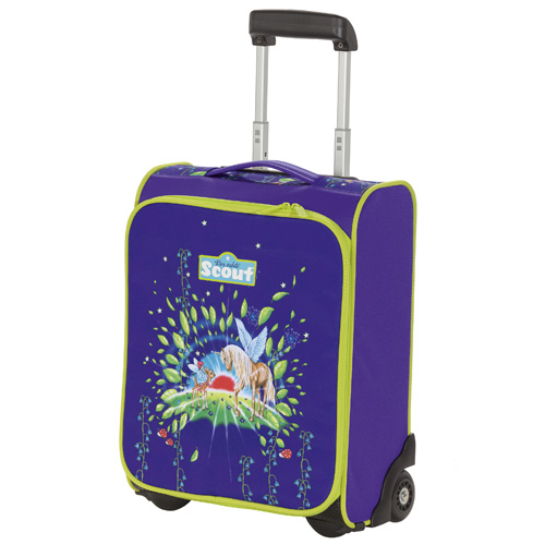 Dětský kufr trolley Scout jednorožec