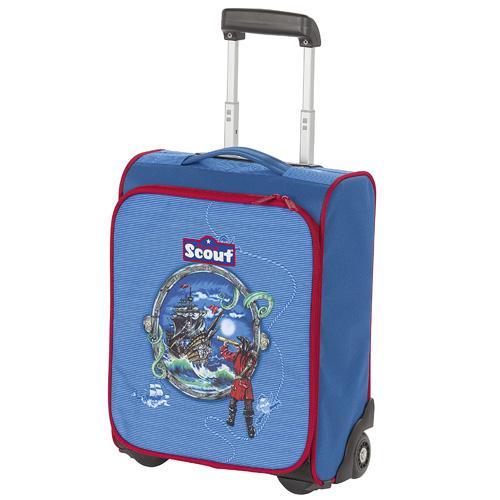 Dětský kufr trolley Scout piráti