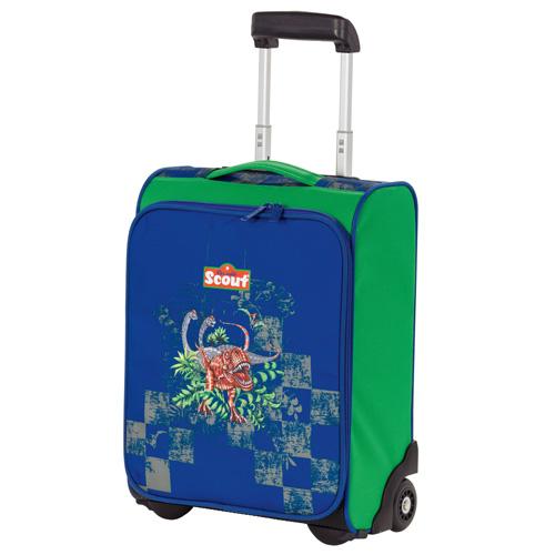 Dětský kufr trolley Scout dinosauři