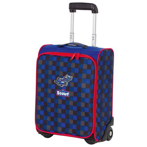 Dětský kufr trolley Scout Formule
