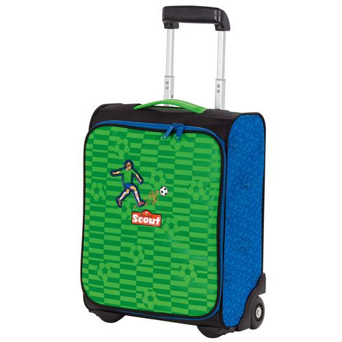 Dětský kufr trolley Scout Fotbalista