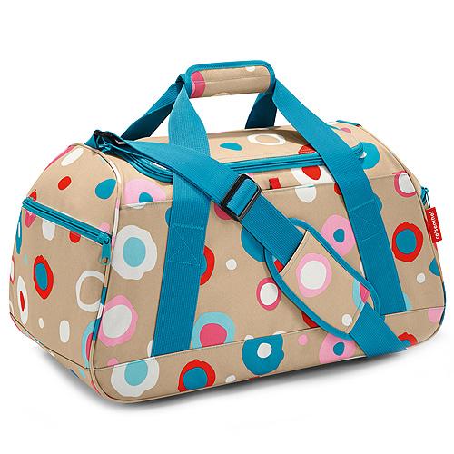 Sportovní taška Reisenthel Activitybag béžová s puntíky