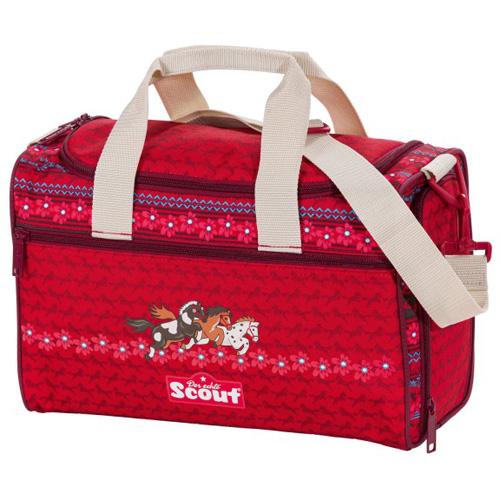 7f0d8f5dcb8 Sportovní taška Scout tři koníci