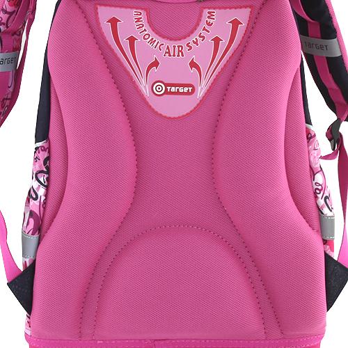 Školní batoh Hello Kitty multi hearts