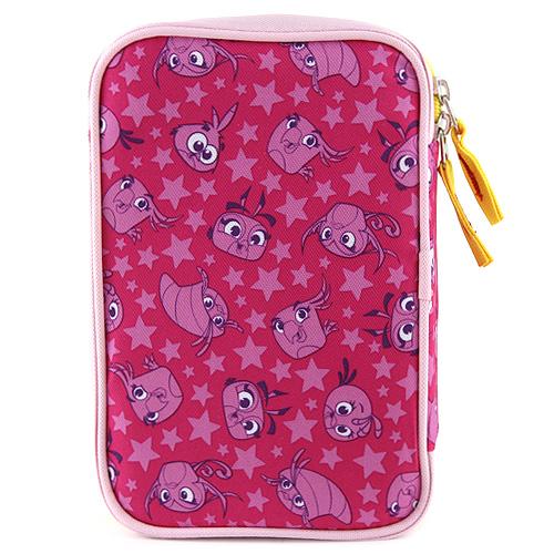 Školní penál s náplní Target Angry Birds růžový