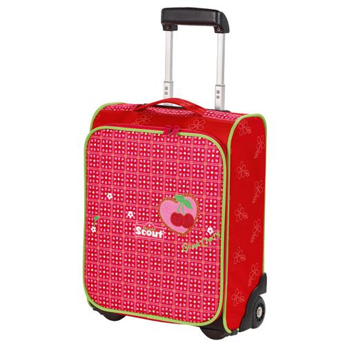 Dětský kufr trolley Scout Třešně