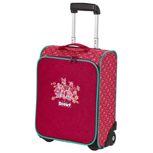 Dětský kufr trolley Scout srneček