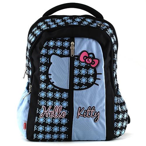 Školní batoh Hello Kitty Blue flower