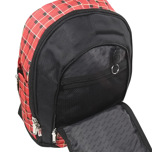 Školní batoh Hello Kitty red karo
