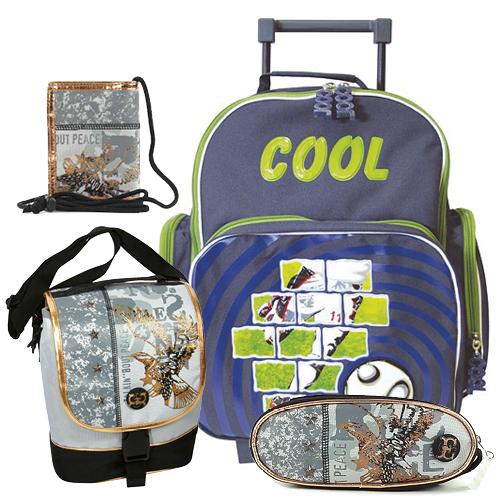 019eef8c018 Školní batoh Cool trolley set