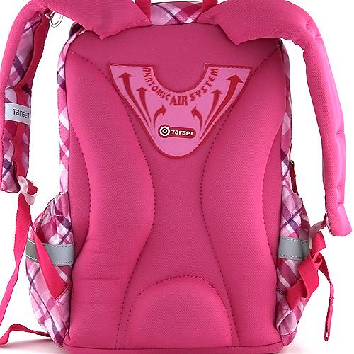 Školní batoh Winx Club růžové kostky