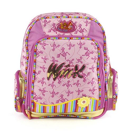 Školní batoh Winx Club Friends Forever růžový