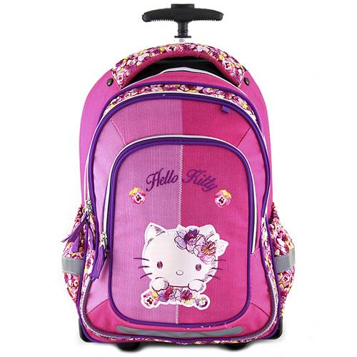 Školní batoh trolley Hello Kitty