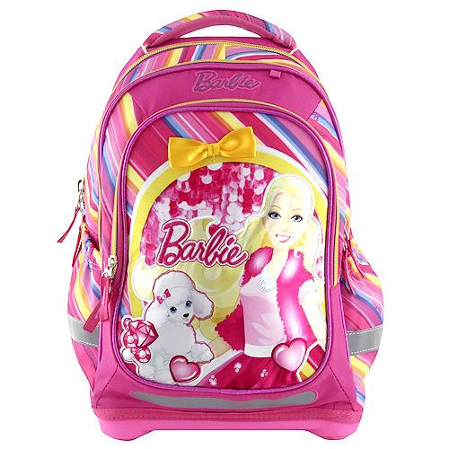 Školní batoh Target Panenka Barbie růžový