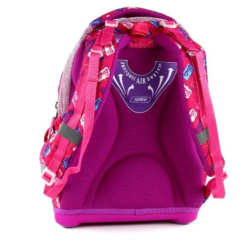 Školní batoh Target Panenka Barbie růžový 2