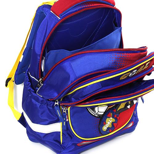 Školní batoh Goal modro/červený