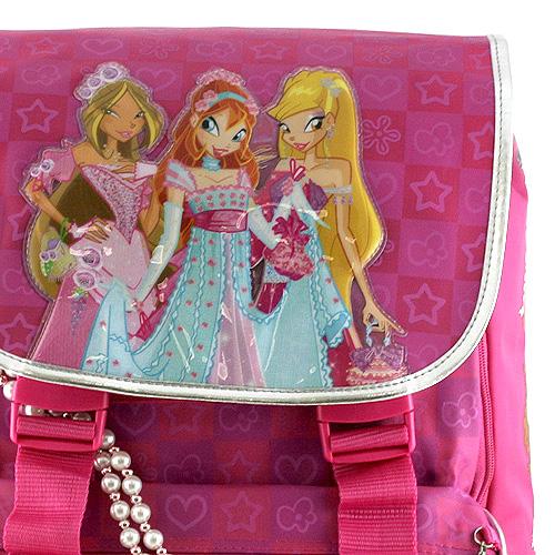 Školní batoh Winx Club Tři víly princezny