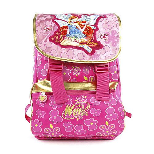 Školní batoh Winx Club víla Bloom s křídly