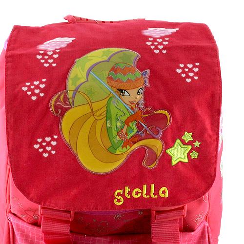 Winx Club Školní batoh na přezky 43.1 × 32.7 × 73 cm víla Stella
