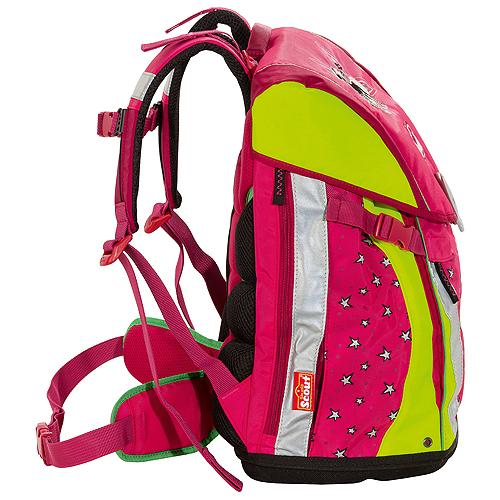 Školní batoh Scout Sunny Stříbrné hvězdičky