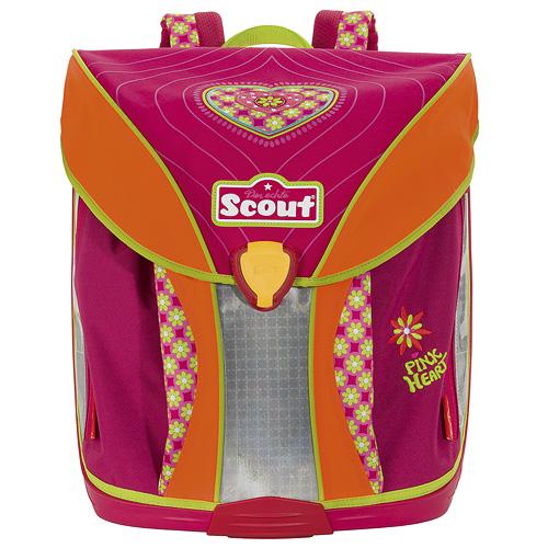 Školní batoh Scout Nano srdíčko