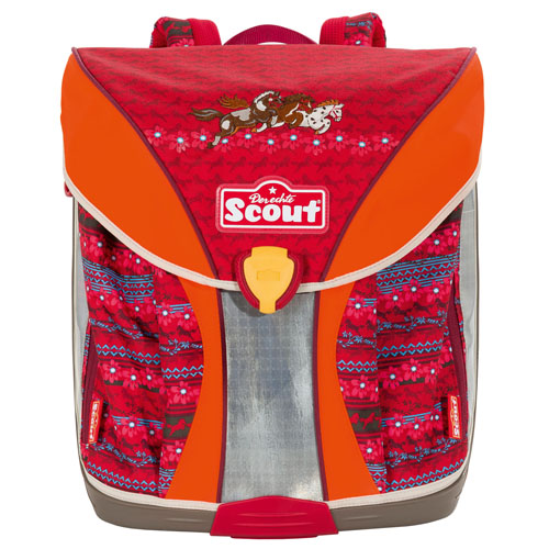 Školní batoh Scout Nano tři koníci