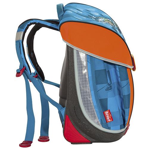 Školní batoh Scout Nano helikoptéra
