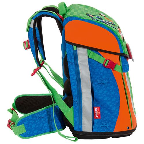 Školní batoh Scout Sunny fotbalista