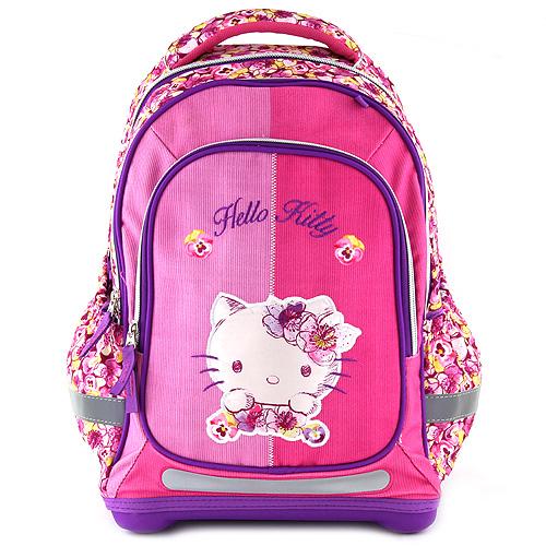 Školní batoh Hello Kitty květiny
