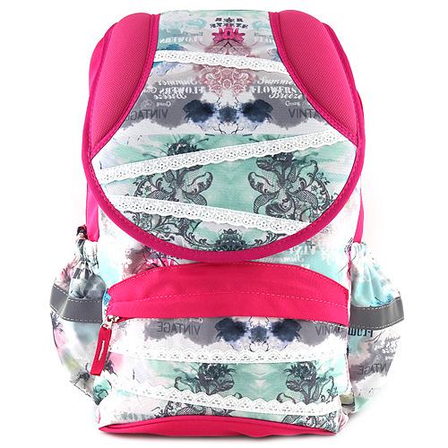 Školní batoh Target bílá krajka