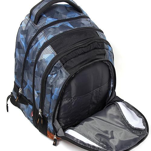 Studentský batoh 2v1 Target Brown crash