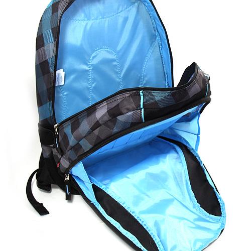 Batoh Target modré kostky