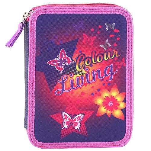 Školní penál s náplní Target Colour living motýlci