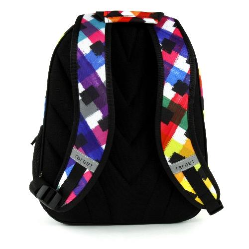 Školní batoh Betty Boop barevné kostky