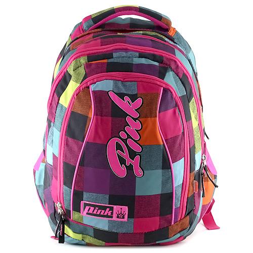 Studentský batoh 2v1 Pink