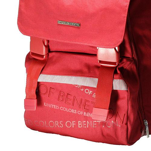 Školní batoh Benetton červený