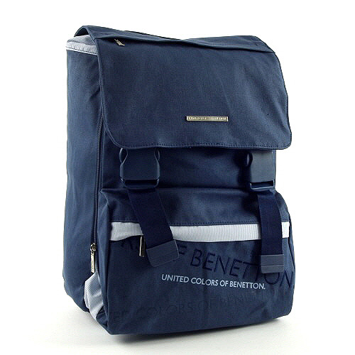 Školní batoh Benetton tmavě modrý