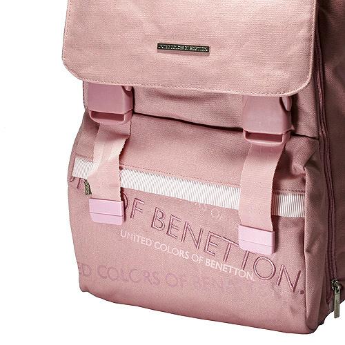 Školní batoh Benetton růžový