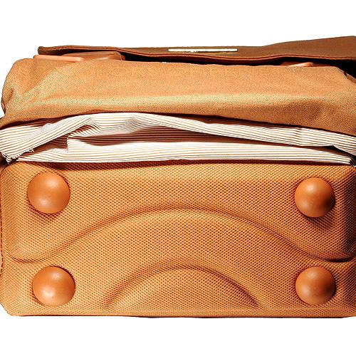 Školní batoh Benetton oranžový
