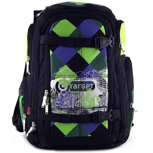 Sportovní batoh Target Fashion barevné kostky
