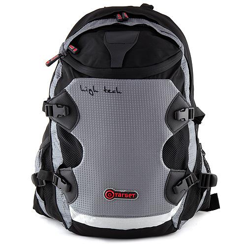 Batoh na notebook Target High tech šedo-černý