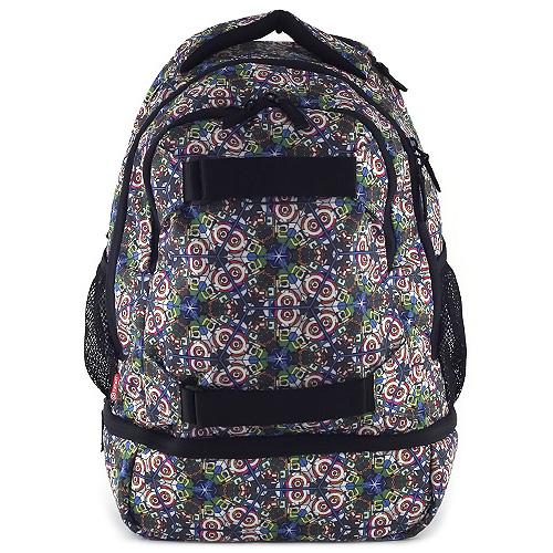 Sportovní batoh Target Černý s barevnými ornamenty