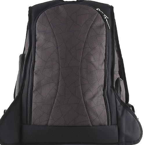 Sportovní batoh Target hnědý se vzorem