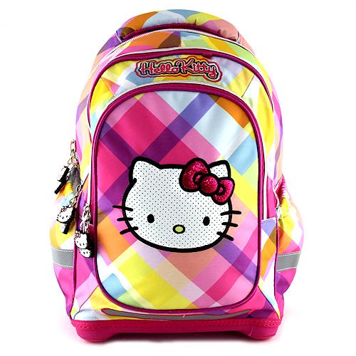 Školní batoh Hello Kitty Yellow square