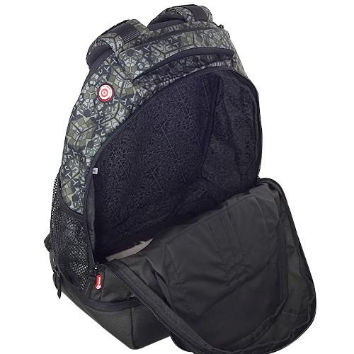 Sportovní batoh Target Retro černo-zelený