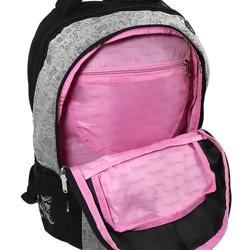 Školní batoh Hello Kitty Cotton šedý