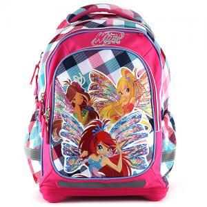 Školní batoh Winx Club barevné kostky 95afa1602d