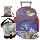 Školní batoh Cool trolley set