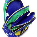 Školní batoh Goal zeleno modrý
