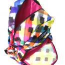 Batoh Target barevné kosočtverce